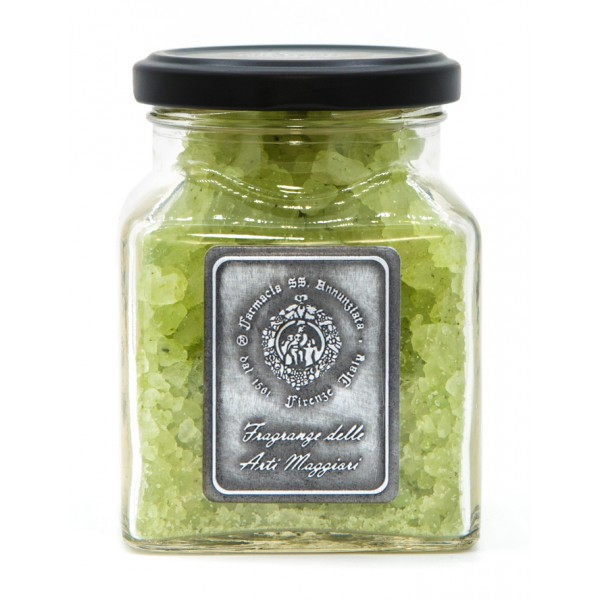 Farmacia SS. Annunziata 1561 - Arte della Seta - Bath Salts - Fragrance of the Major Arts - Ancient Florence