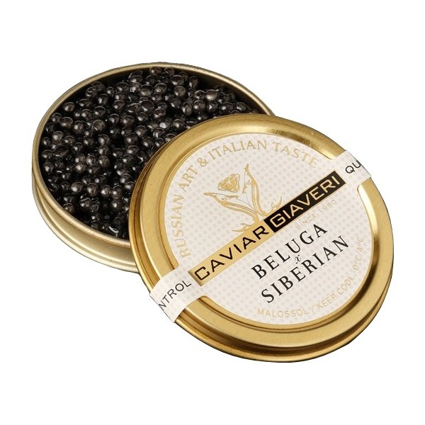 Caviar Giaveri - Caviar Beluga Siberian - 200 g