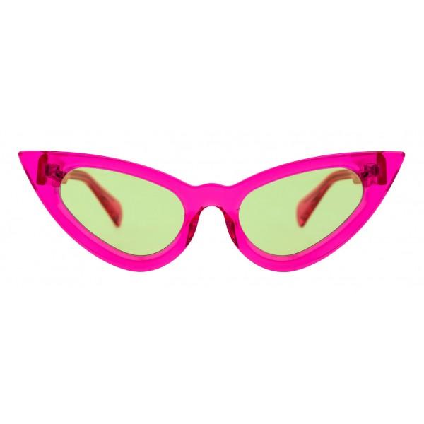 Kuboraum - Mask Y3 - Fucsia - Y3 FCS - Occhiali da Sole - Kuboraum Eyewear