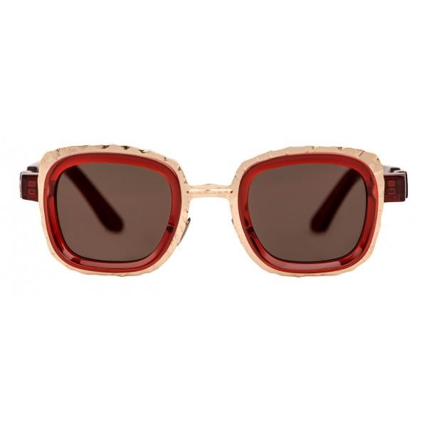 Kuboraum - Mask Z8 - Rosso - Z8 RED - Occhiali da Sole - Kuboraum Eyewear