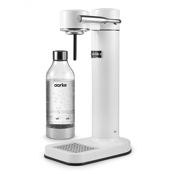 Aarke - Carbonator II - Aarke Sparkling Water Maker - Bianco - Smart Home - Produttore di Acqua Frizzante