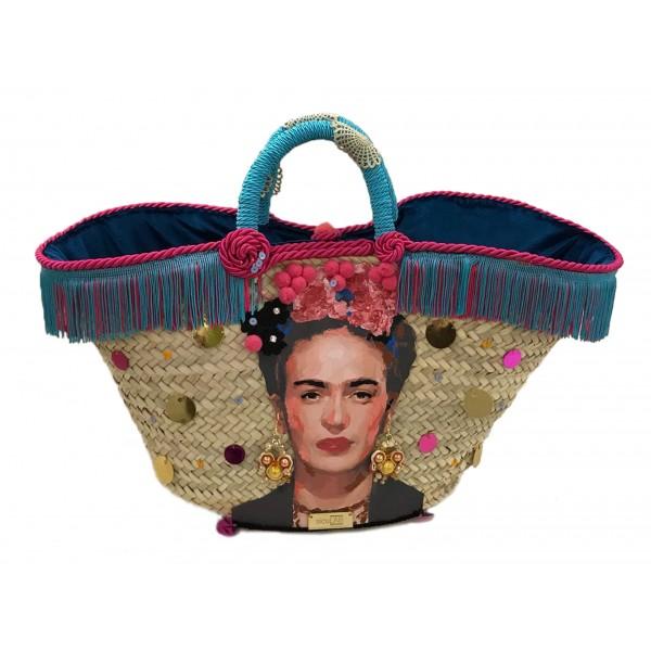 SicuLAB - Coffa Frida - Sicilian Artisan Handbag - Sicilian Coffa - Luxury High Quality Handicraft Bag