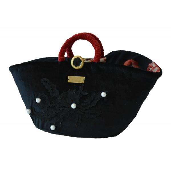 SicuLAB - Coffa Cuntissa - Sicilian Artisan Handbag - Sicilian Coffa - Luxury High Quality Handicraft Bag