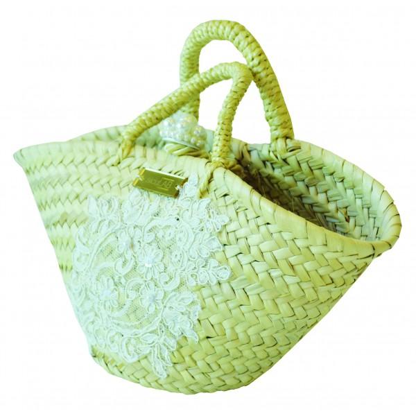 SicuLAB - Coffa Wedding - Sicilian Artisan Handbag - Sicilian Coffa - Luxury High Quality Handicraft Bag