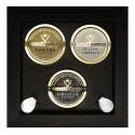 Caviar Giaveri - Caviale - Zar Trilogy Luxury Box - 3 x 50 g