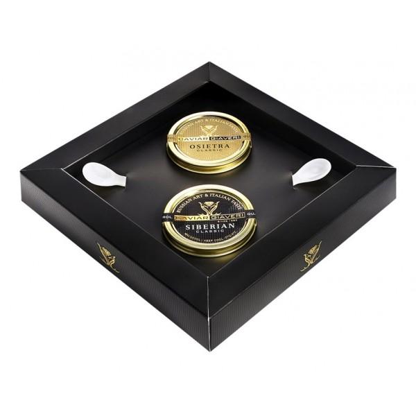 Caviar Giaveri - Caviar - The King and The Queen - Luxury Box - 2 x 50 g