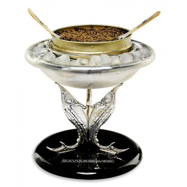 Caviar Giaveri - Portacaviale Luxury - Portacaviale Esclusivo Realizzato a Mano Artigianalmente