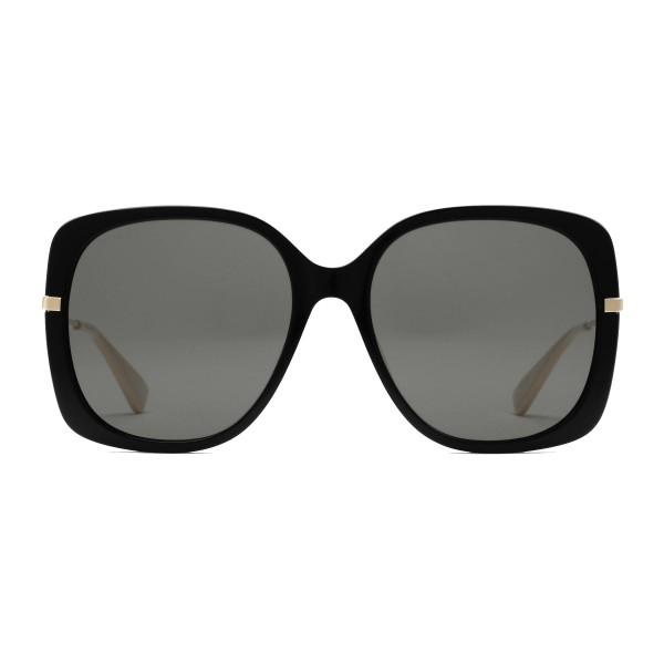 Gucci - Occhiali da Sole Quadrati - Nero - Gucci Eyewear