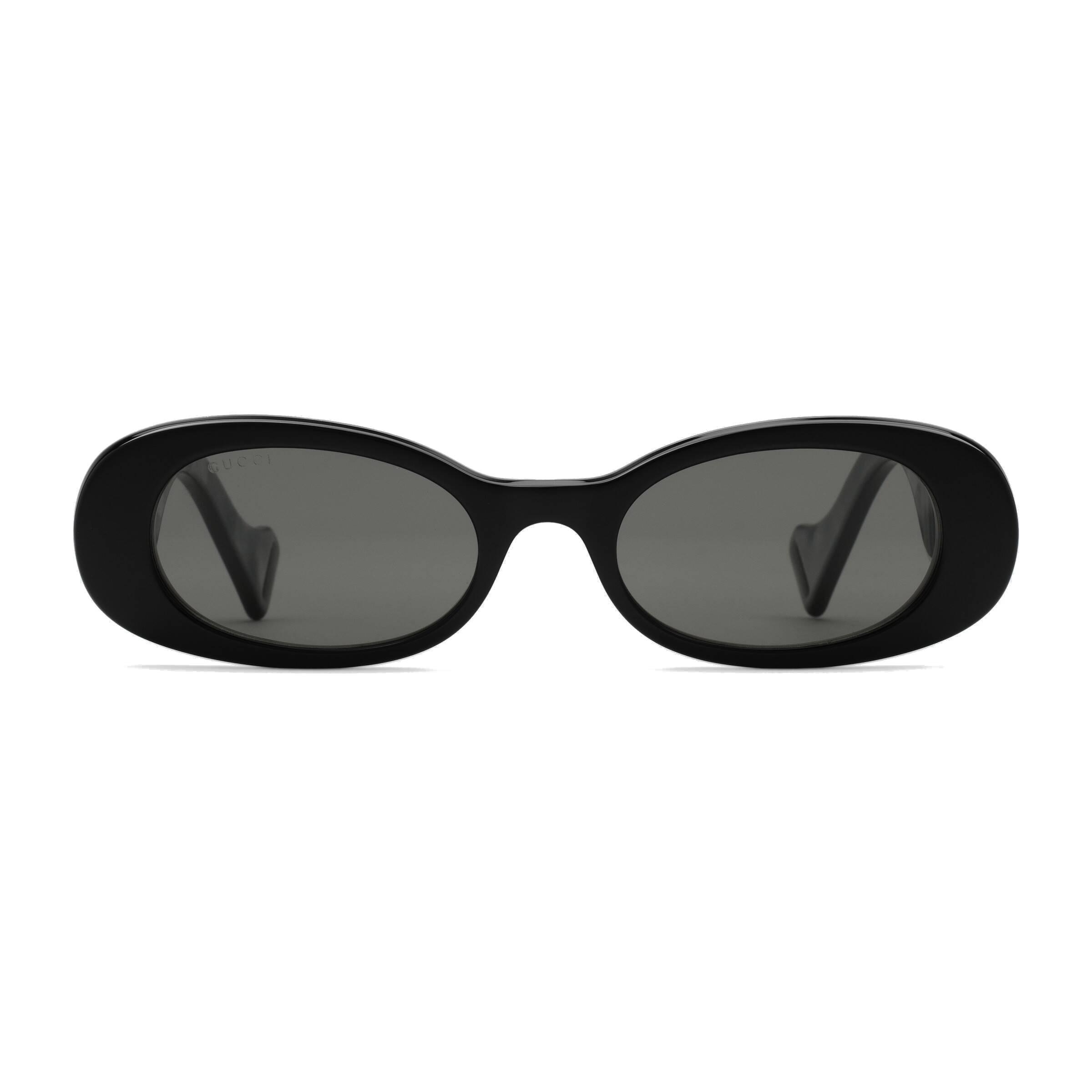 5084a83d5fcf Gucci - Oval Sunglasses - Black - Gucci Eyewear - Avvenice