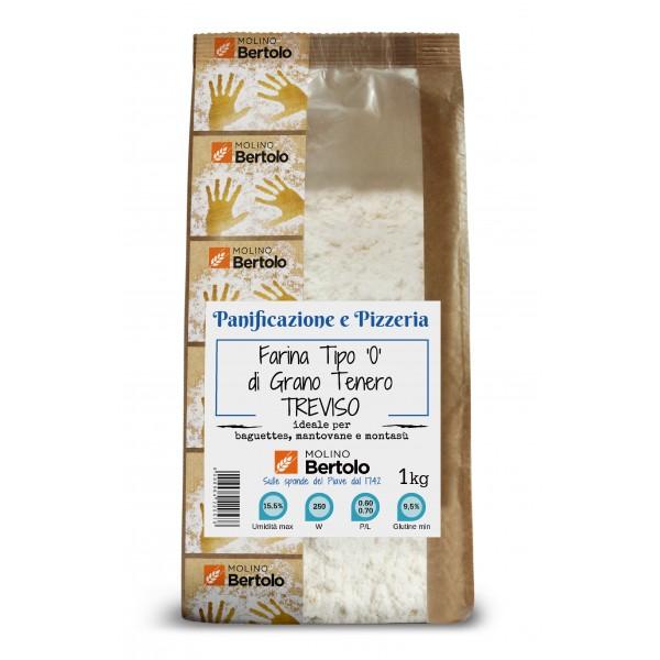 Molino Bertolo - Flour Type 0 - Soft Wheat Treviso - 1 Kg