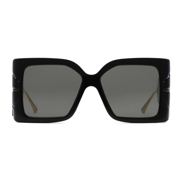 052ad178415a Gucci - Square Acetate Sunglasses - Black - Gucci Eyewear - Avvenice