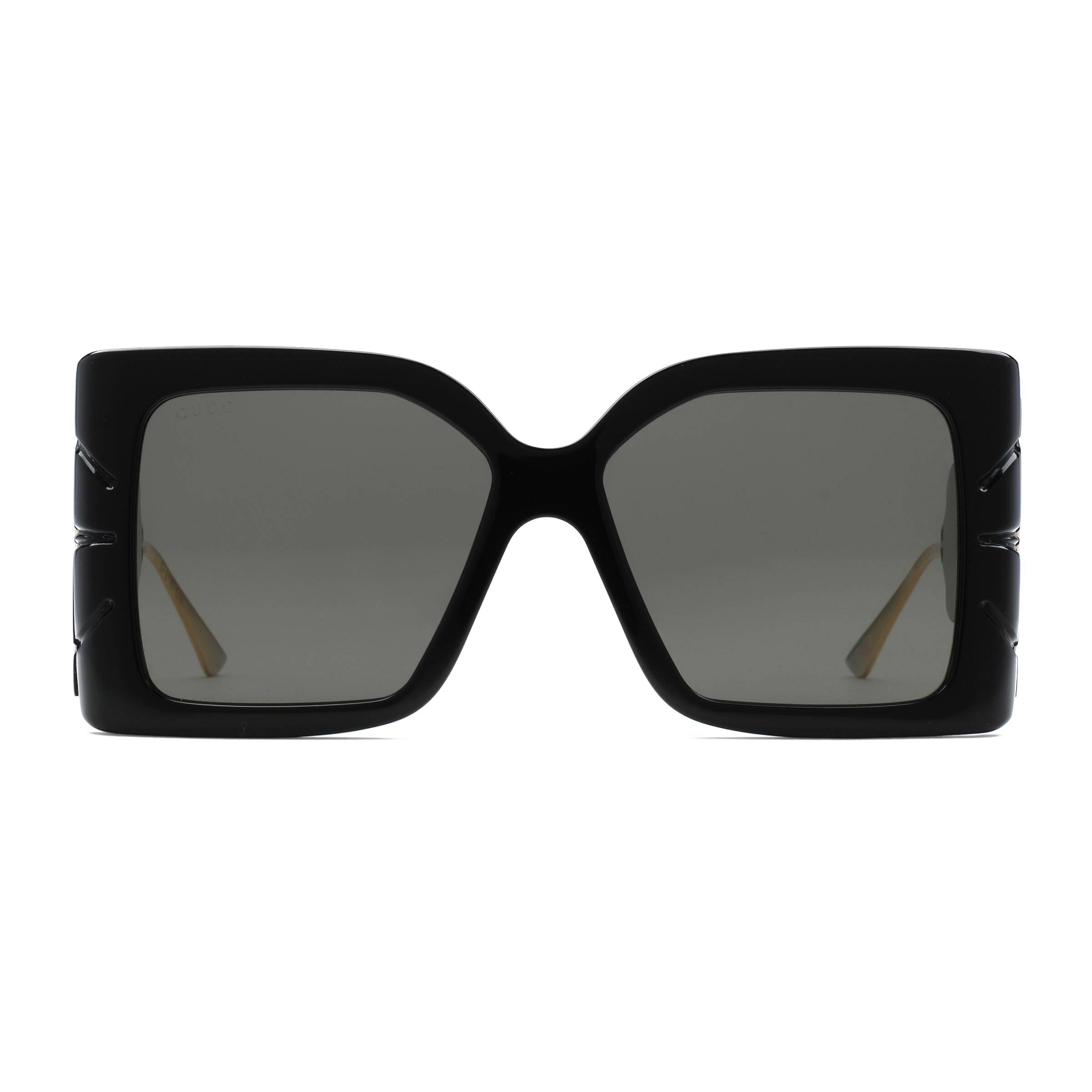 469990a80 Gucci - Square Acetate Sunglasses - Black - Gucci Eyewear - Avvenice