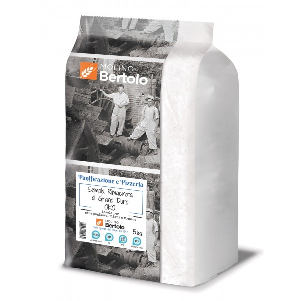 Molino Bertolo - Golden Reground Bran - Durum Wheat - 5 Kg