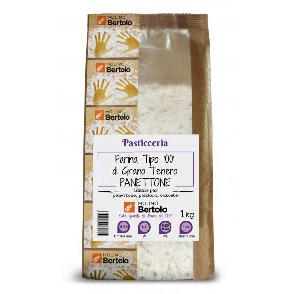 Molino Bertolo - Flour Type 00 - Soft Wheat Panettone - 1 Kg