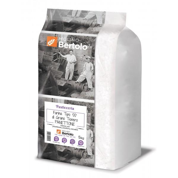 Molino Bertolo - Flour Type 00 - Soft Wheat Panettone - 5 Kg