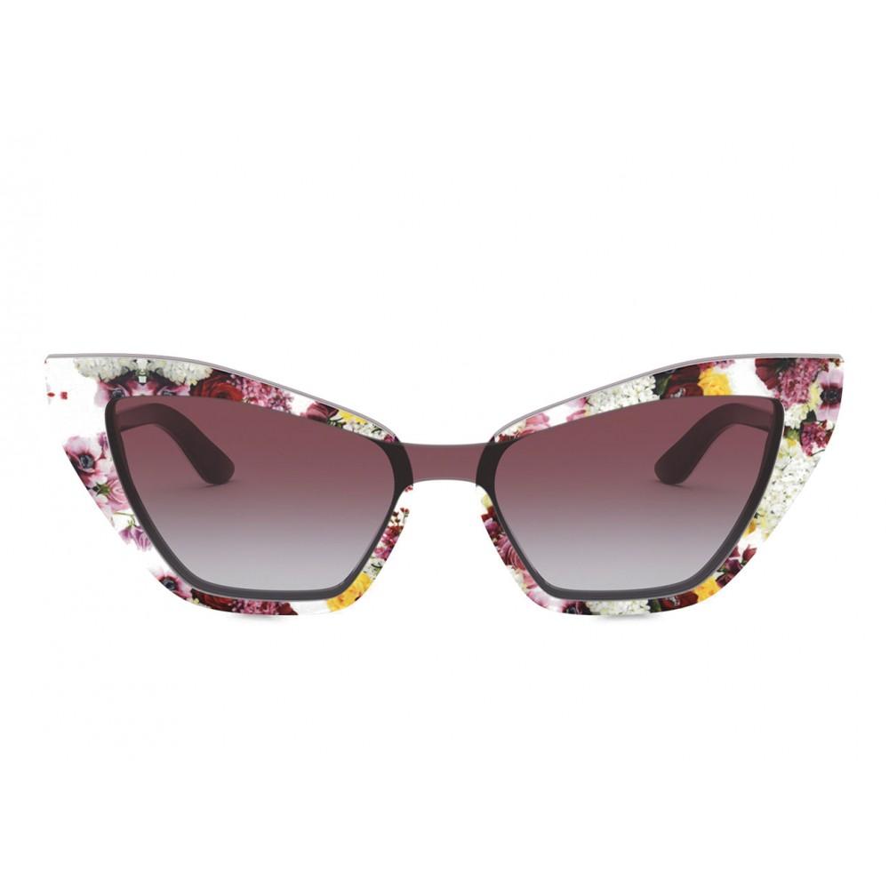 4d3ca215dce4 Dolce & Gabbana - Cat Eye Sunglasses Print Family - Flower Mix - Dolce &  Gabbana ...
