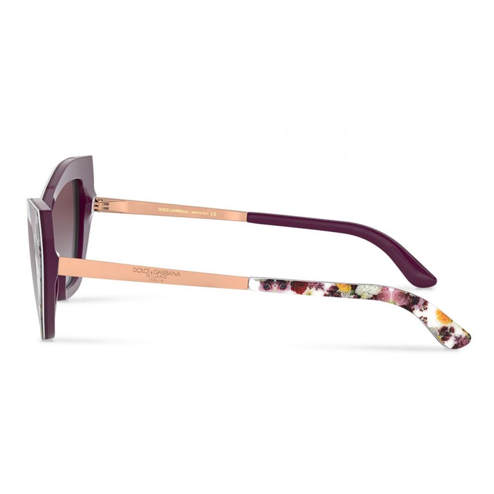 9b74ab771cc8 ... Dolce & Gabbana - Cat Eye Sunglasses Print Family - Flower Mix - Dolce  & Gabbana ...