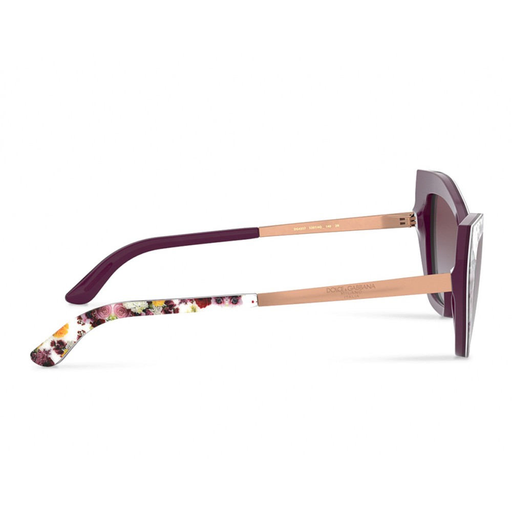 c94daece33f1 ... Dolce & Gabbana - Cat Eye Sunglasses Print Family - Flower Mix - Dolce  & Gabbana