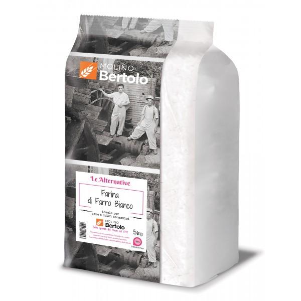 Molino Bertolo - White Spelt Flour - 5 Kg