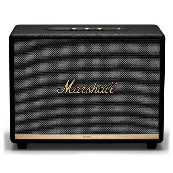 Marshall - Woburn II - Nero - Bluetooth Speaker - Altoparlante Iconico di Alta Qualità Premium Classico