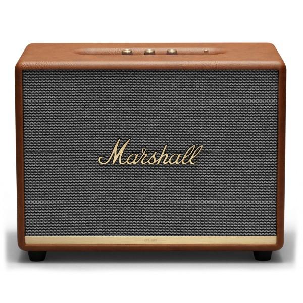 Marshall - Woburn II - Marrone - Bluetooth Speaker - Altoparlante Iconico di Alta Qualità Premium Classico