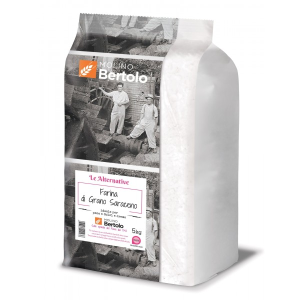 Molino Bertolo - Farina di Grano Saraceno - 5 Kg