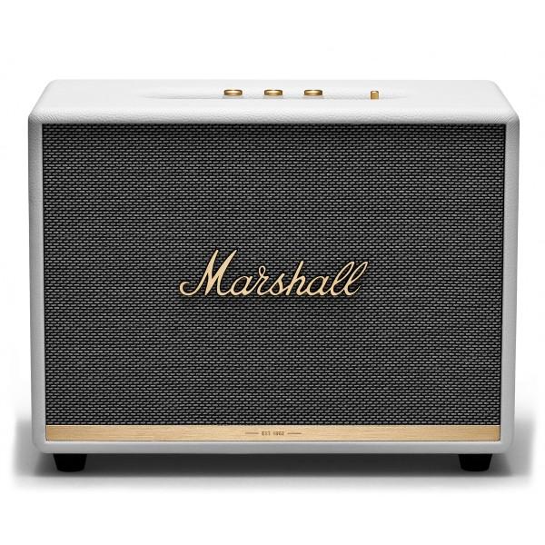 Marshall - Woburn II - Bianco - Bluetooth Speaker - Altoparlante Iconico di Alta Qualità Premium Classico