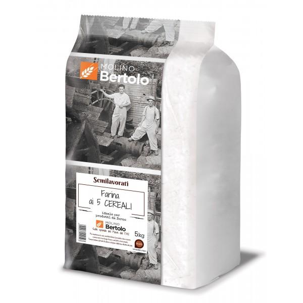 Molino Bertolo - Farina ai Cinque Cereali - 5 Kg