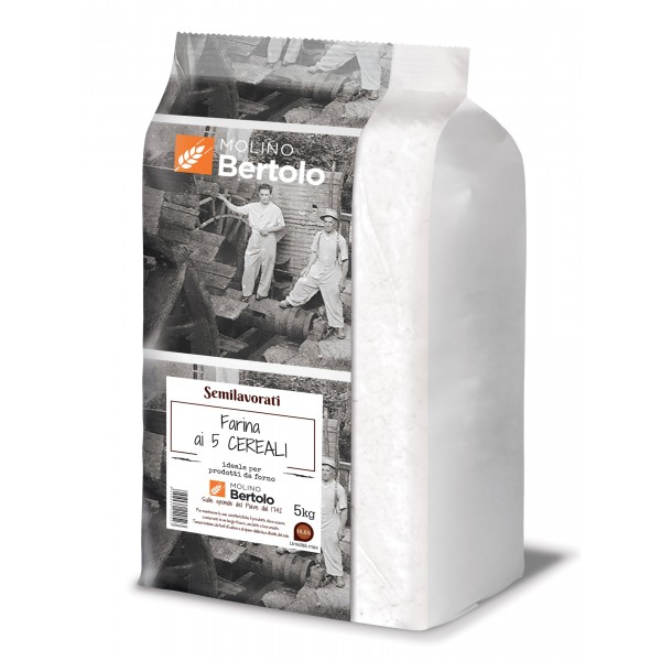 Molino Bertolo - Five Grains Flour - 5 Kg
