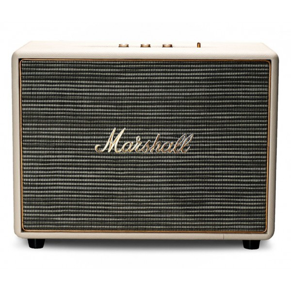 Marshall - Woburn - Cream - Multi-Room Wi-Fi Speaker - Iconic Classic Premium High Quality Speaker