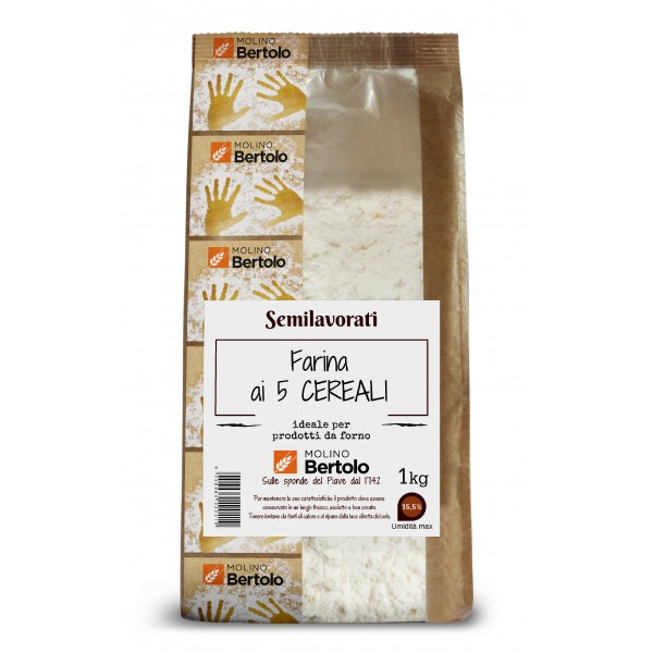 Molino Bertolo - Five Grains Flour - 1 Kg