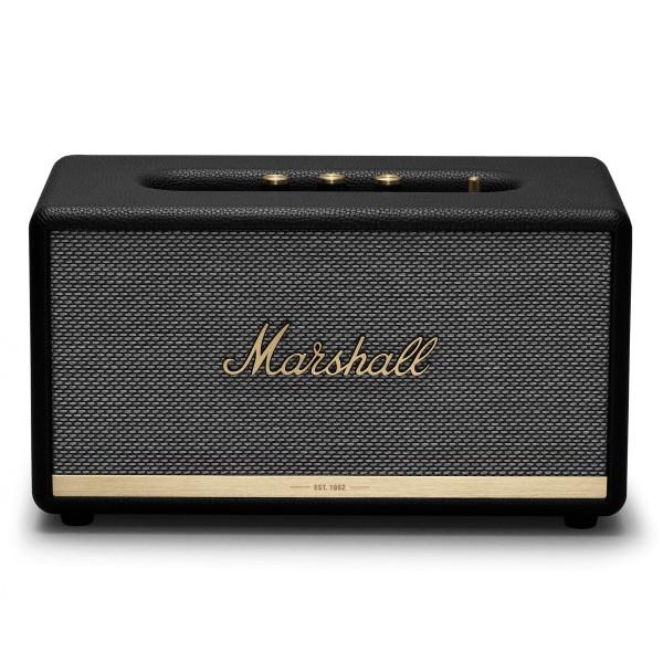 Marshall - Stanmore II - Nero - Bluetooth Speaker - Altoparlante Iconico di Alta Qualità Premium Classico