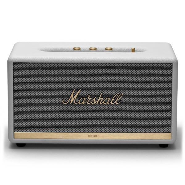 Marshall - Stanmore II - Bianco - Bluetooth Speaker - Altoparlante Iconico di Alta Qualità Premium Classico