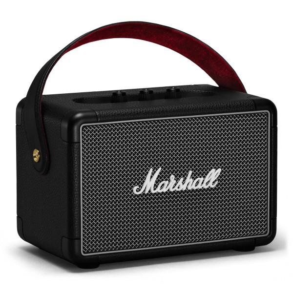 Marshall - Kilburn II - Nero - Bluetooth Speaker Portatile - Altoparlante Iconico di Alta Qualità Premium Classico