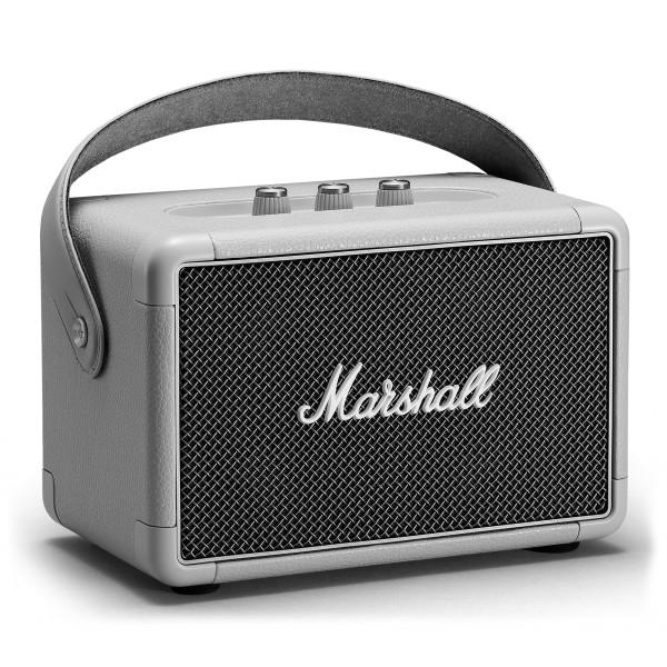 Marshall - Kilburn II - Grigio - Bluetooth Speaker Portatile - Altoparlante Iconico di Alta Qualità Premium Classico