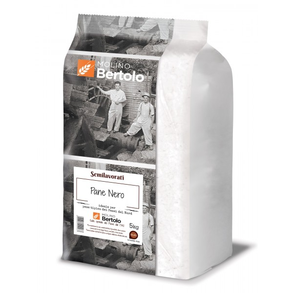 Molino Bertolo - Flour for Black Bread - 5 Kg