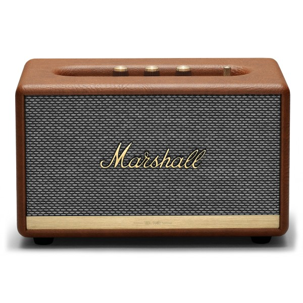 Marshall - Acton II - Marrone - Bluetooth Speaker - Altoparlante Iconico di Alta Qualità Premium Classico