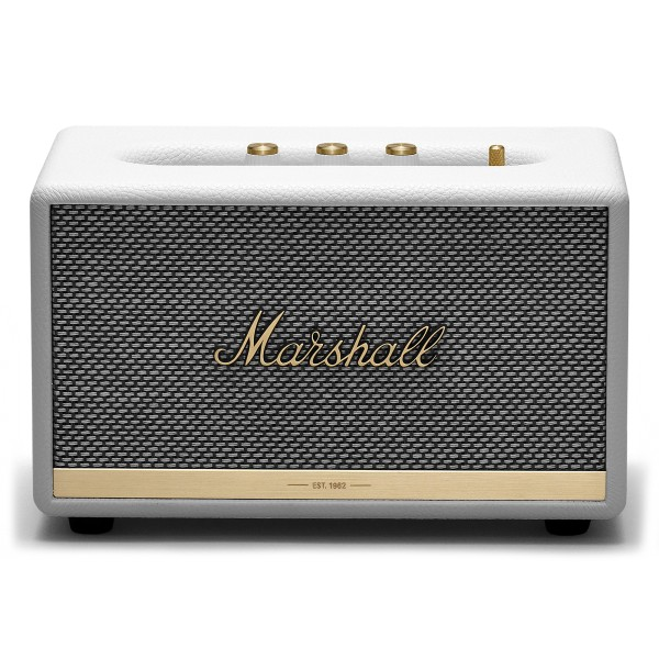Marshall - Acton II - Bianco - Bluetooth Speaker - Altoparlante Iconico di Alta Qualità Premium Classico