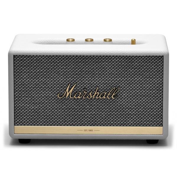 Marshall - Acton II - White - Bluetooth Speaker - Iconic Classic Premium High Quality Speaker