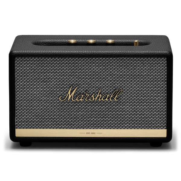 Marshall - Acton II - Nero - Bluetooth Speaker - Altoparlante Iconico di Alta Qualità Premium Classico