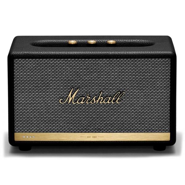 Marshall - Acton II - Voice Google - Black - Bluetooth Speaker - Iconic Classic Premium High Quality Speaker