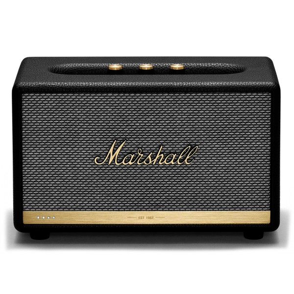 Marshall - Acton II - Voice Google - Nero - Bluetooth Speaker - Altoparlante Iconico di Alta Qualità Premium Classico