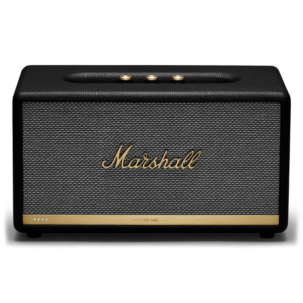 Marshall - Stanmore II - Voice Google - Black - Bluetooth Speaker - Iconic Classic Premium High Quality Speaker