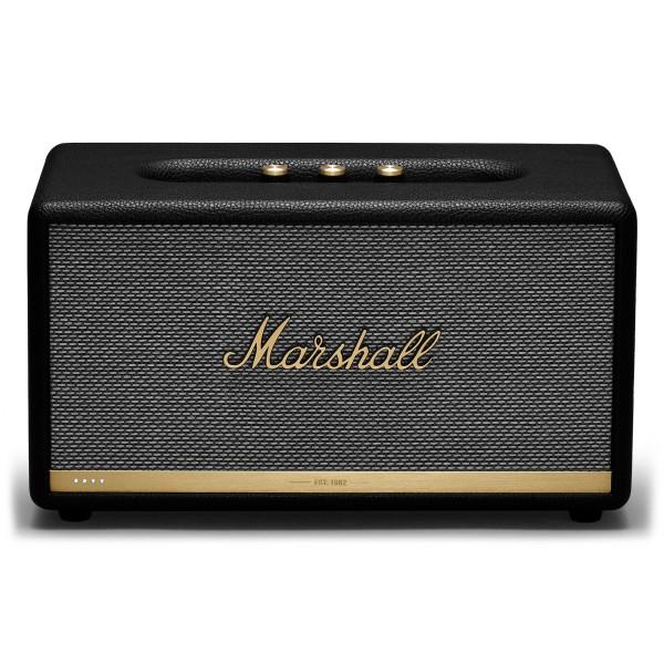 Marshall - Stanmore II - Voice Google - Nero - Bluetooth Speaker - Altoparlante Iconico di Alta Qualità Premium Classico