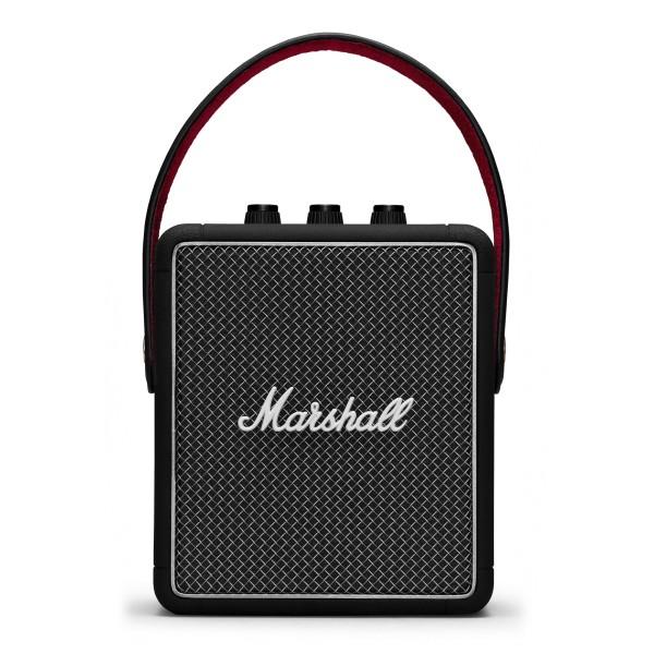 Marshall - Stockwell II - Nero - Bluetooth Speaker Portatile - Altoparlante Iconico di Alta Qualità Premium Classico