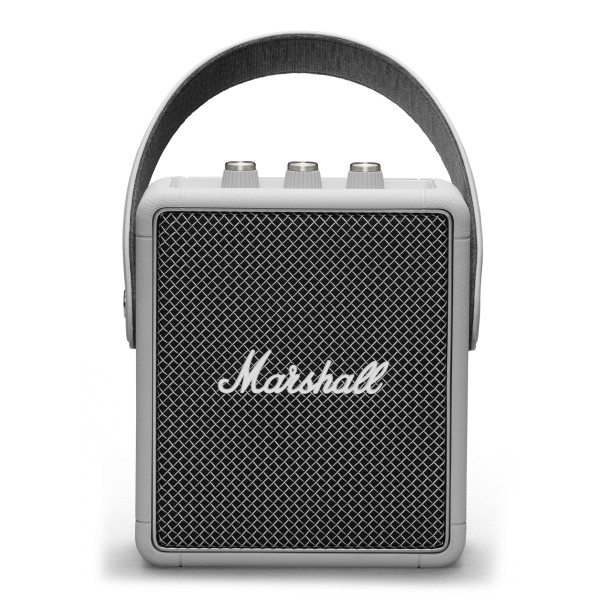 Marshall - Stockwell II - Grey - Portable Bluetooth Speaker - Iconic Classic Premium High Quality Speaker