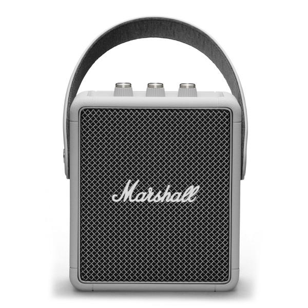 Marshall - Stockwell II - Grigio - Bluetooth Speaker Portatile - Altoparlante Iconico di Alta Qualità Premium Classico