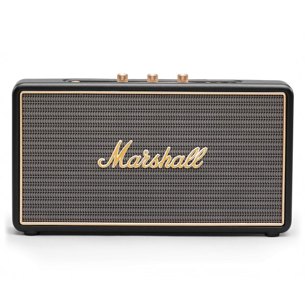 Marshall - Stockwell - Nero - Bluetooth Speaker - Altoparlante Iconico di Alta Qualità Premium Classico