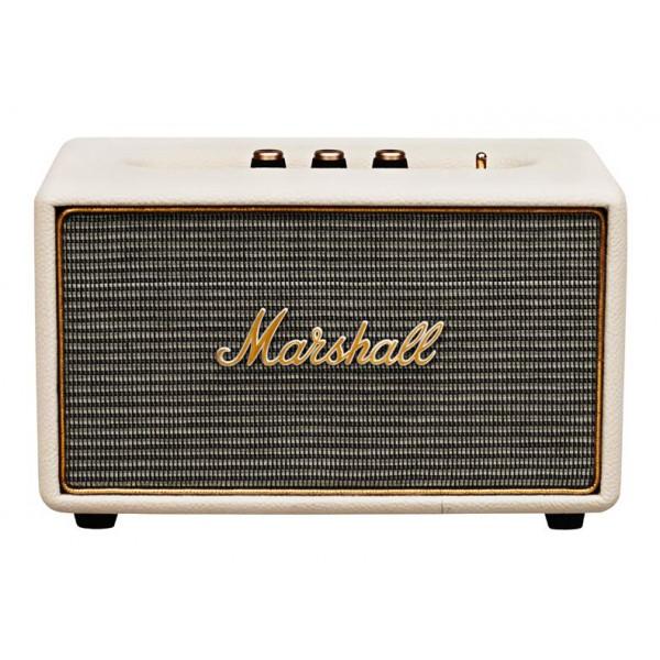 Marshall - Acton - Crema - Bluetooth Speaker - Altoparlante Iconico di Alta Qualità Premium Classico