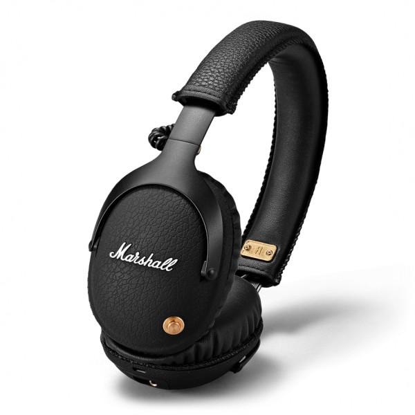 Marshall - Monitor Bluetooth - Black - Bluetooth Wireless Headphones - Iconic Classic Premium High Quality Headphones